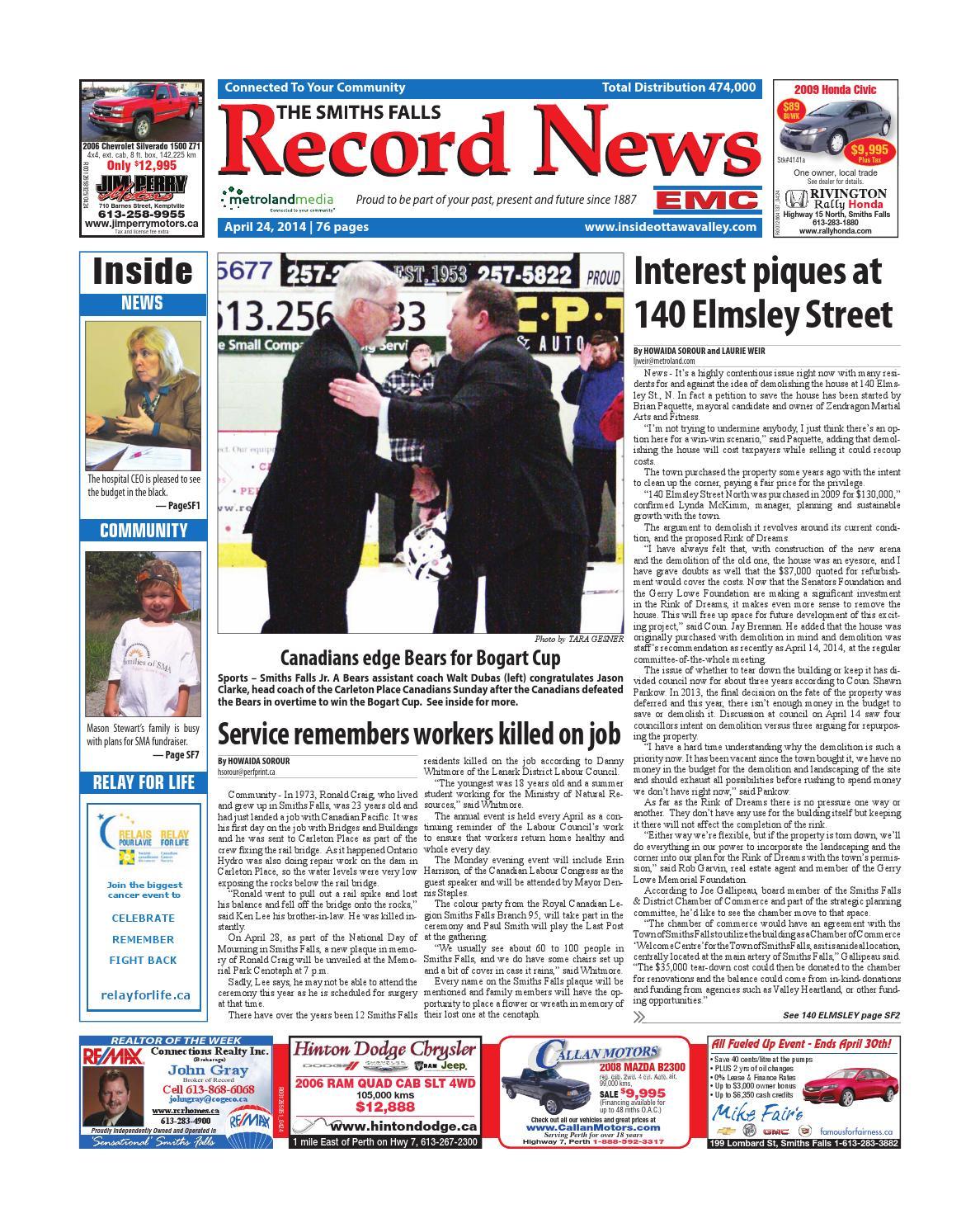 361e86cb990e Smithsfalls042414 by Metroland East - Smiths Falls Record News - issuu