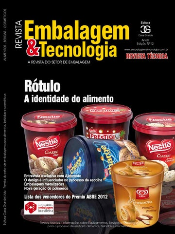 ba016a1f22 Embalagem   Tecnologia Nº18 by 77473 - issuu