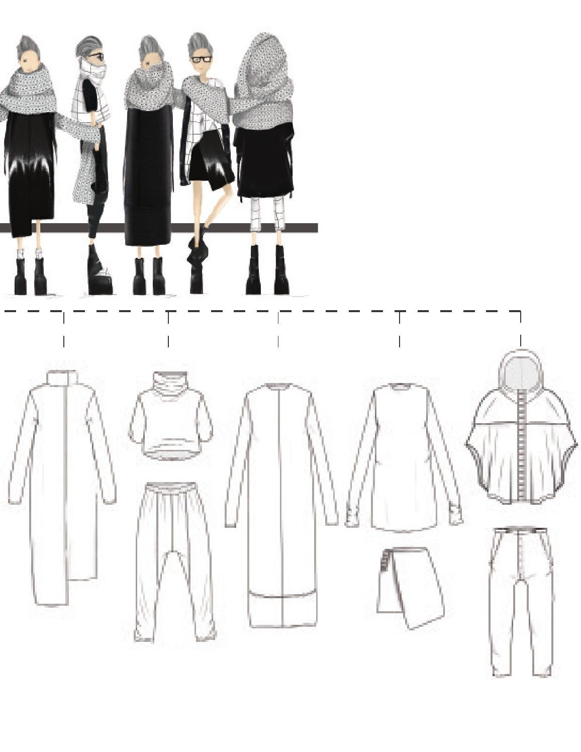 Types Of Lines In Fashion Designing : Types of lines in fashion designing digital pro