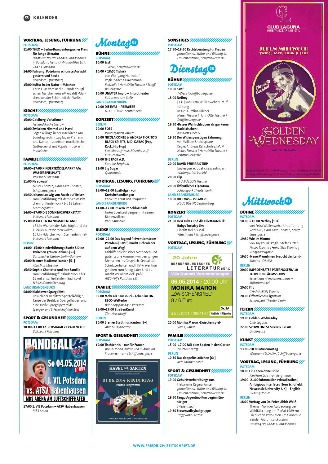 friedrich - Zeitschrift für BerlinBrandenburg by FZBBMEDIA