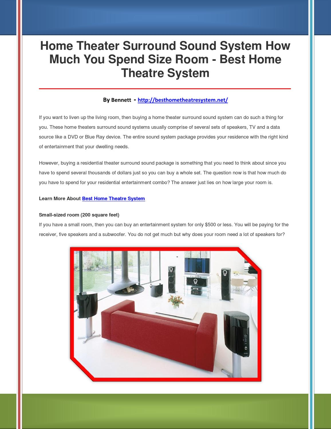Best Home Theatre System By Werfdcfghj Issuu