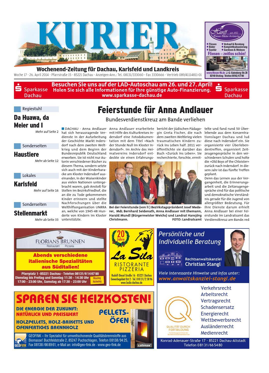 KW 17-2014 by Wochenanzeiger Medien GmbH - issuu
