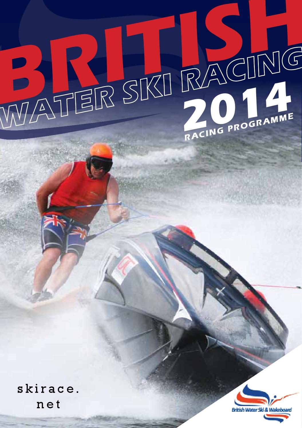 British Water Ski Racing Programme 2014 By Tina Veater Issuu