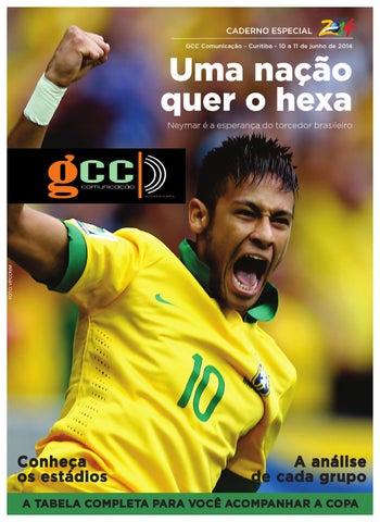 c9166c4339 Projeto Copa do Mundo 2014 by Gazeta Campo Comprido - issuu