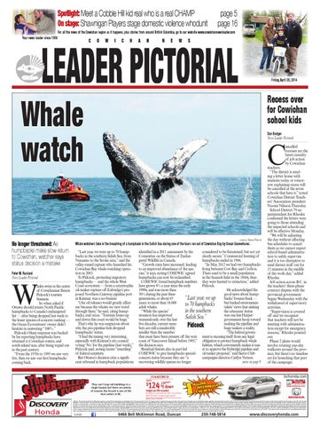 Cowichan News Leader Pictorial April 25 2014 By Black Press Issuu