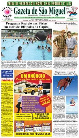 Gazeta de São Miguel - 12 a 18 01 14 - edição 1301 by São Paulo ... 55a1fbf95d