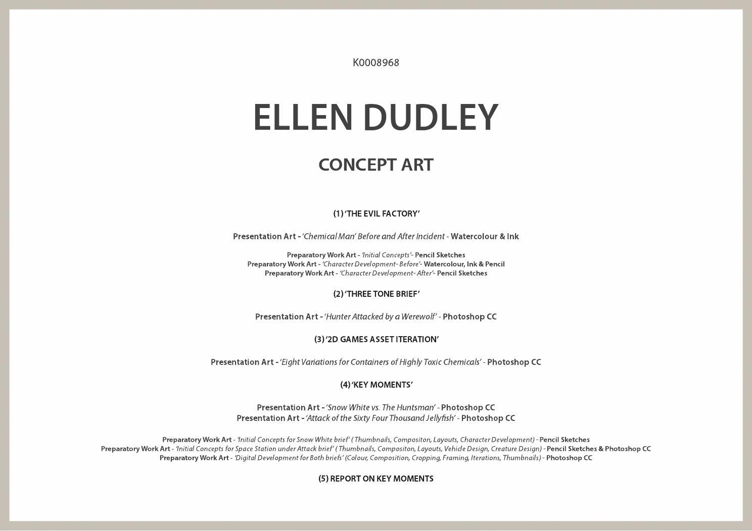Dudley Concept Art