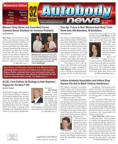 Autobody News May 2014 Midwestern Edition by Autobody News - issuu