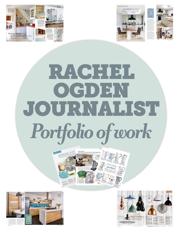 Rachel Ogden latest portfolio by Rachel Ogden - issuu