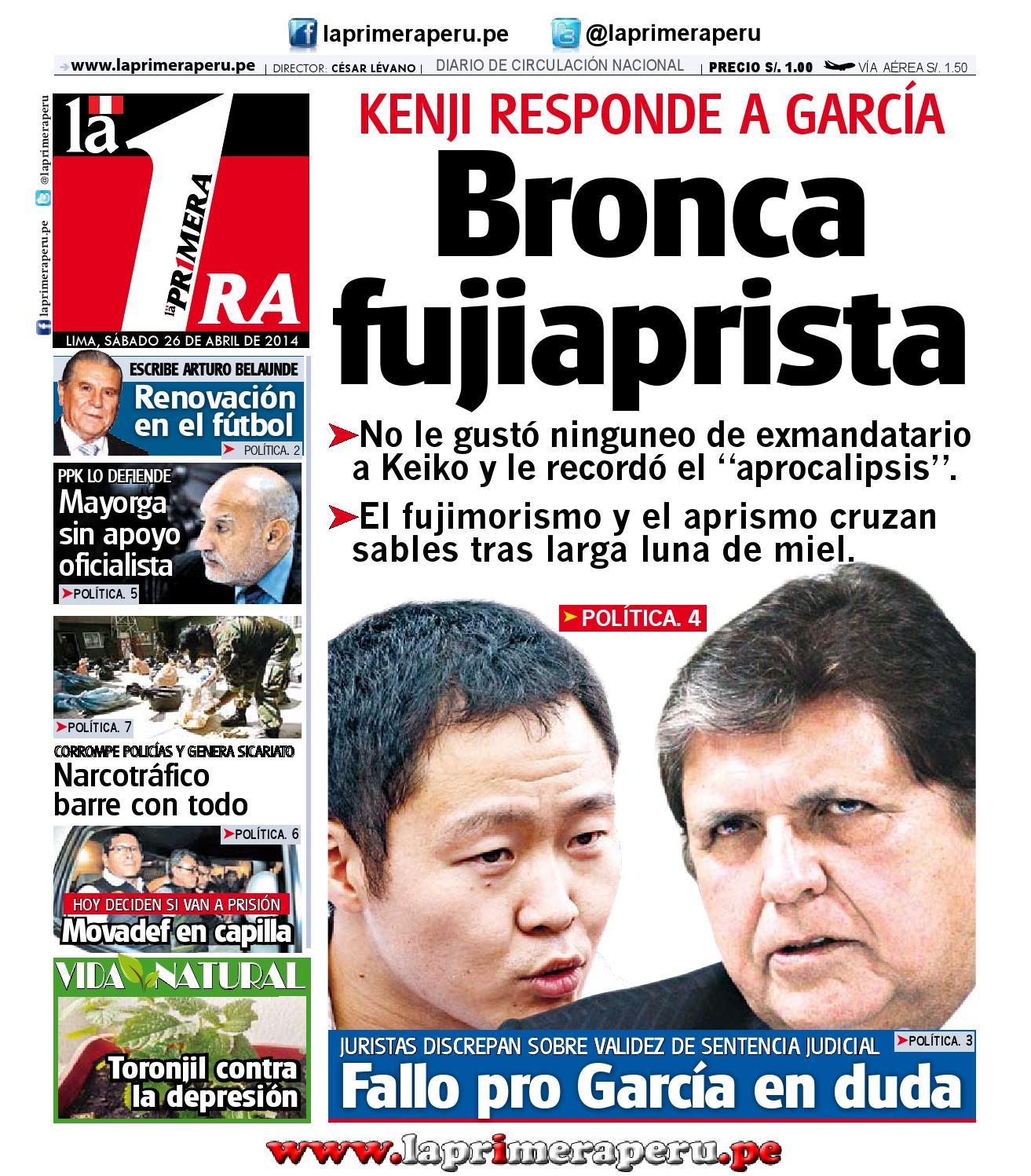 Diario La Primera - 26 Abril 2014 by Diario UNO - Lima Perú - issuu 69100e6d206