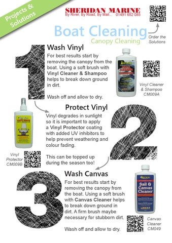 Projects u0026 Solutions Mini Guide - Canopy Cleaning  sc 1 st  Issuu & Projects u0026 Solutions Mini Guide - Canopy Cleaning by Sheridan Marine ...