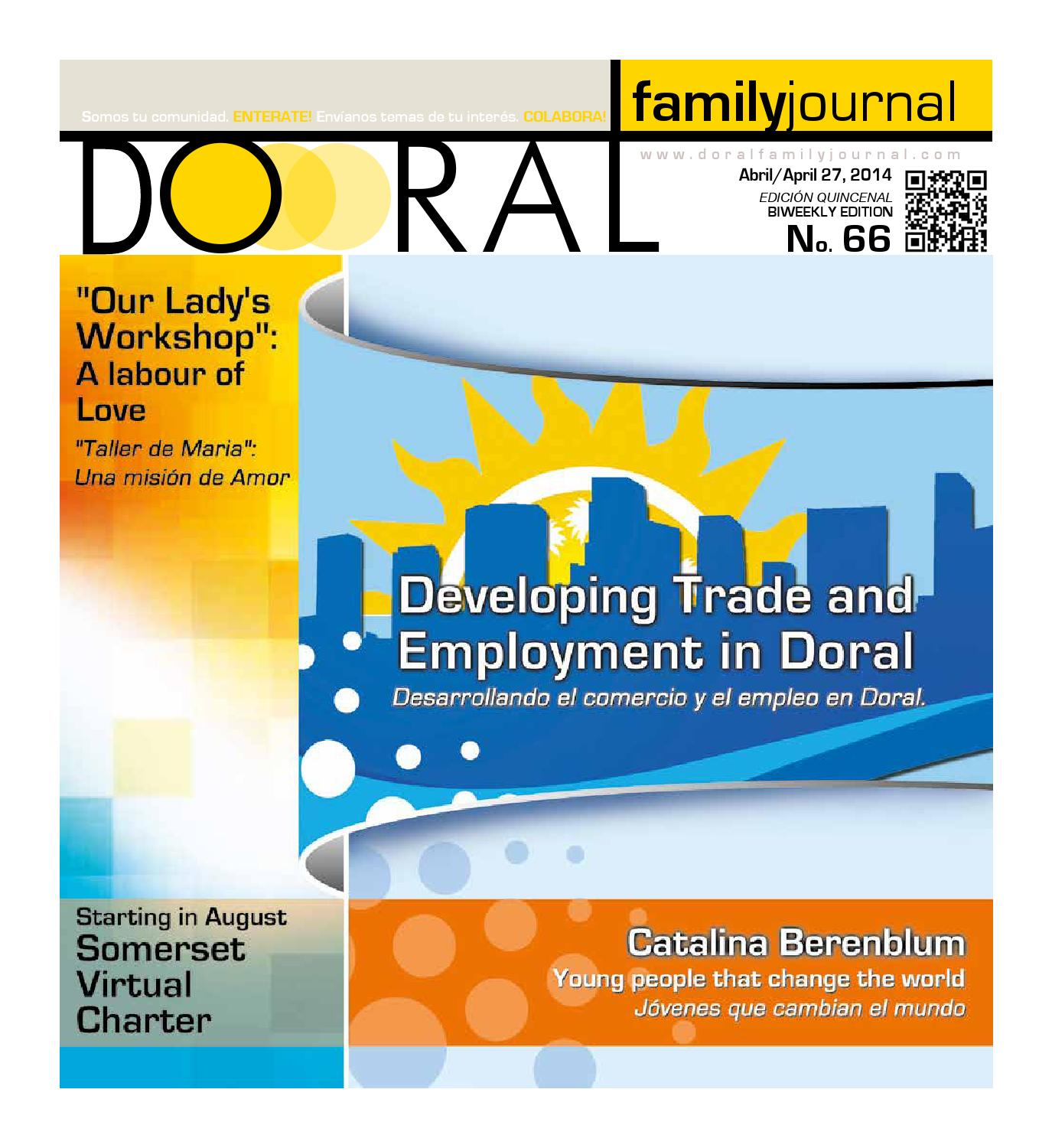 Doral family journal # 66 by DORAL FAMILY JOURNAL - issuu
