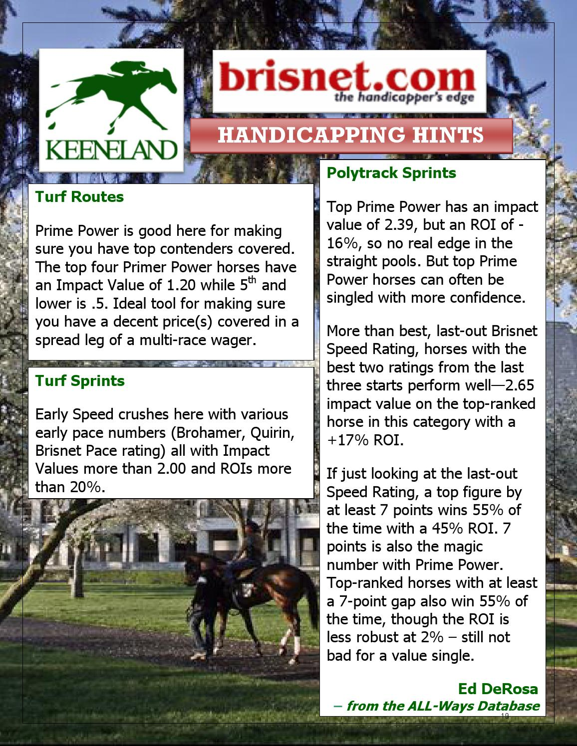 Horse Player NOW Magazine - April 2014 by Horse Player NOW