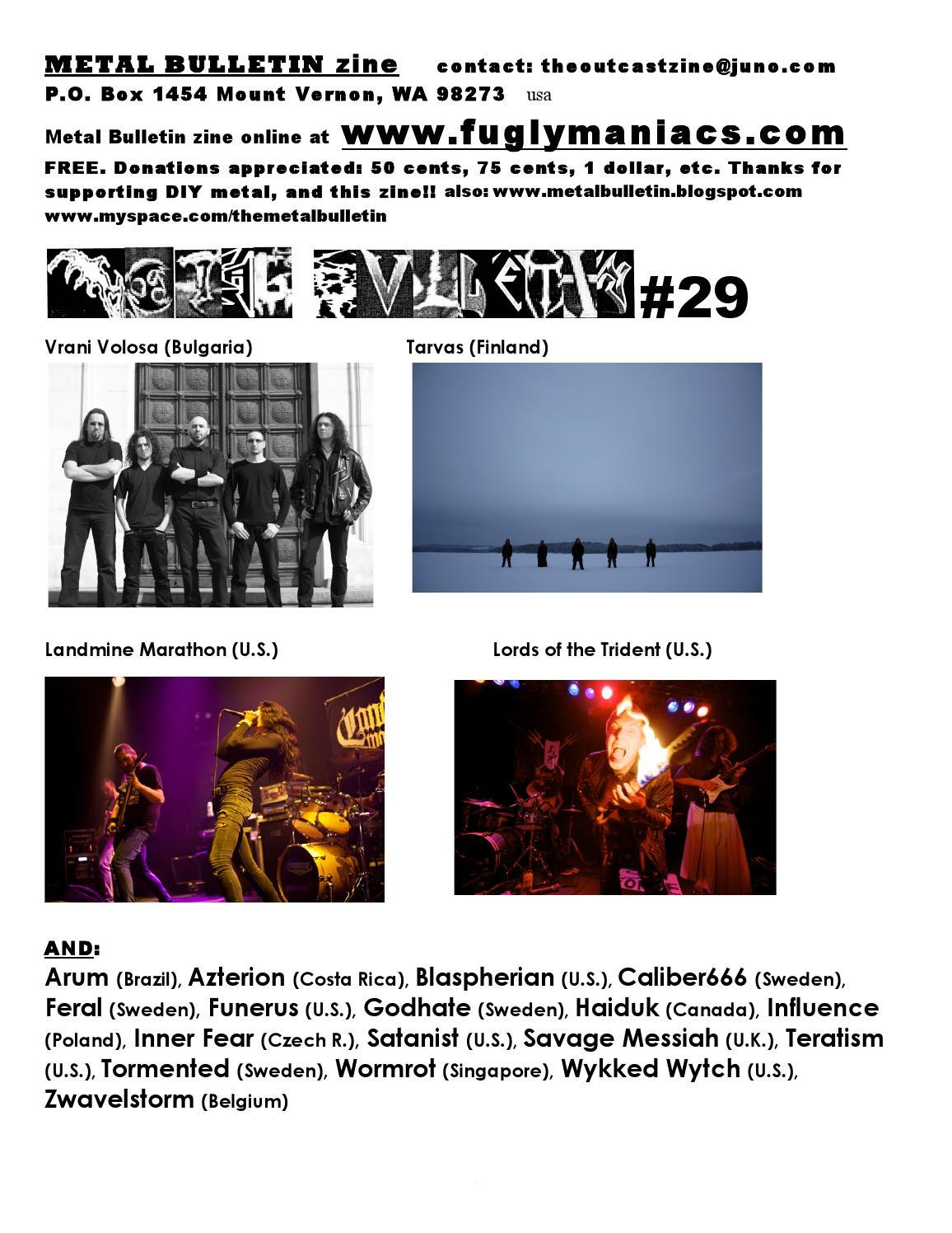 Metal Bulletin Zine 29 by Metal Bulletin Zine - issuu