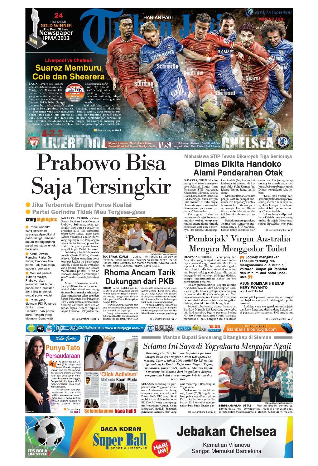 Tribunjogja 27 04 2014 by tribun jogja issuu