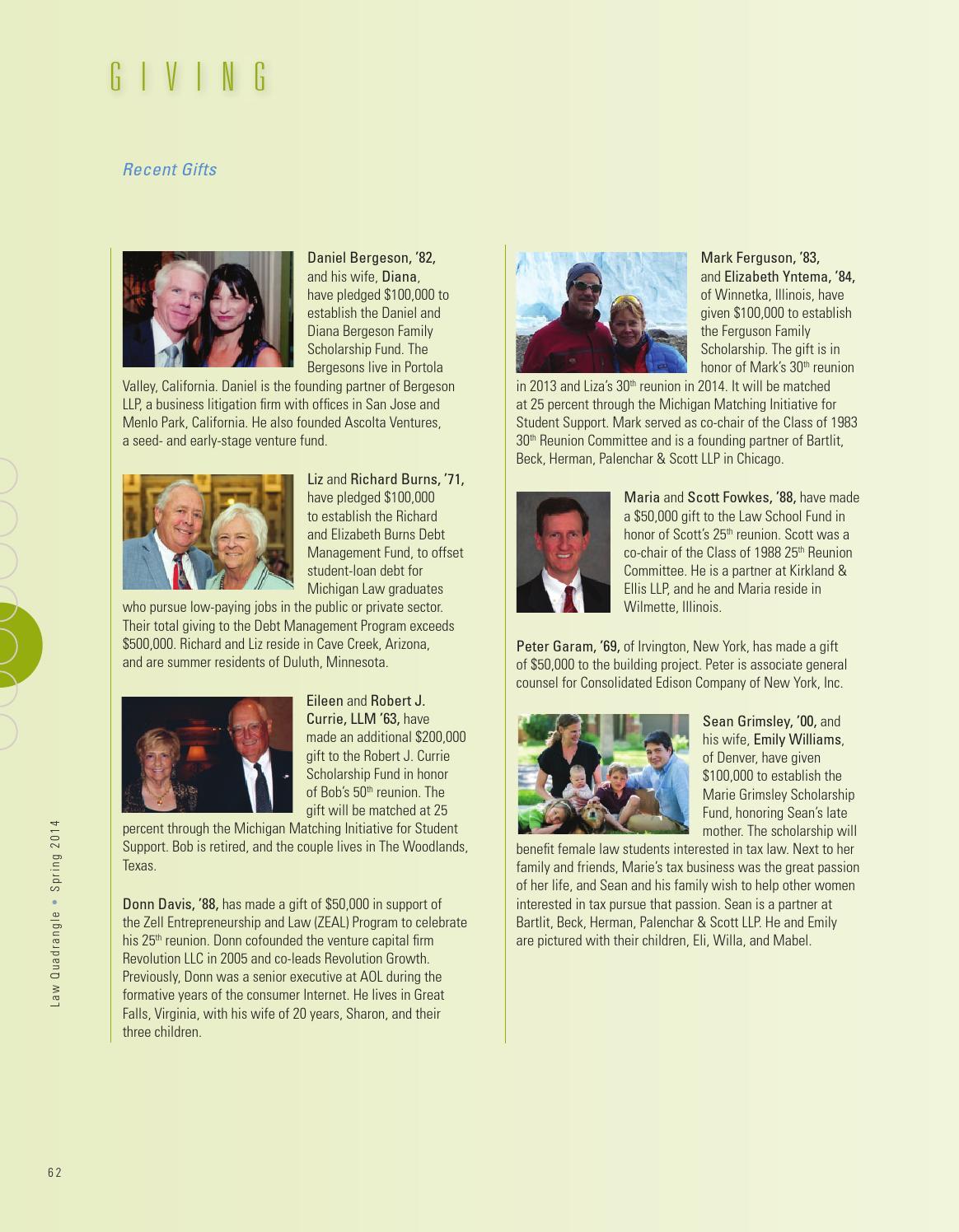 Quadrangle Spring2014 By The University Of Michigan Law School Issuu