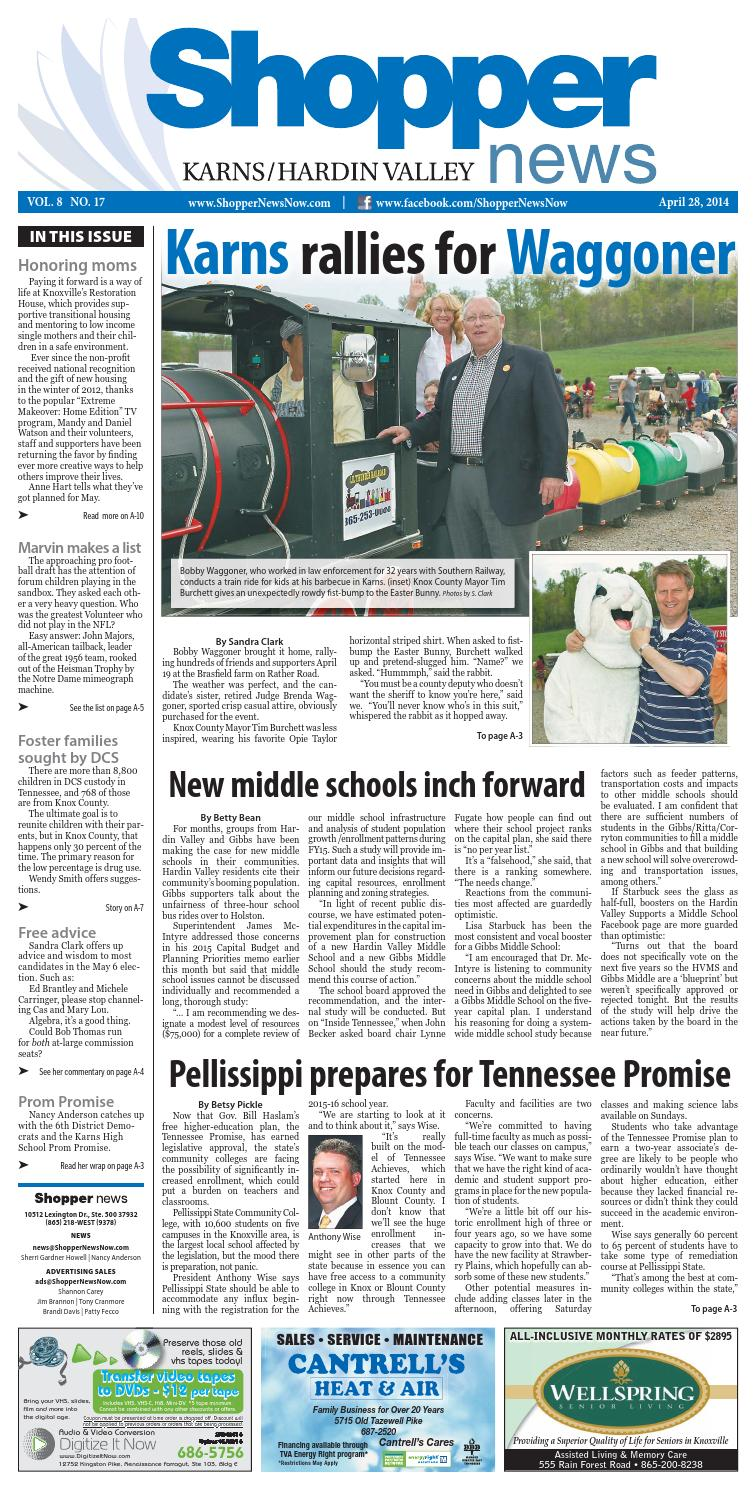 Karns/Hardin Valley Shopper-News 042814 by Shopper-News - issuu