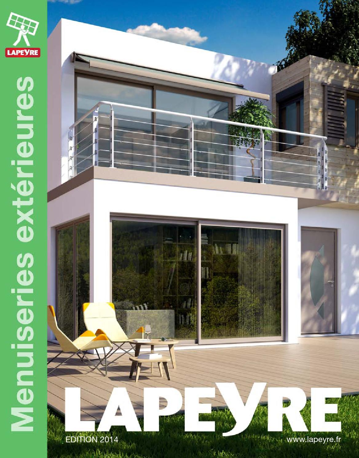 Catalogue lapeyre menuiseries ext rieurs 2014 by joe for Fenetre 7035