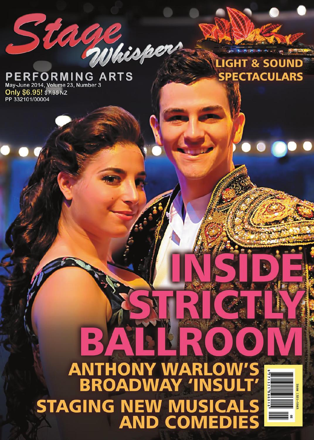 0a1befecd0f9b Stage Whispers May June 2014 by Stage Whispers Magazine - issuu