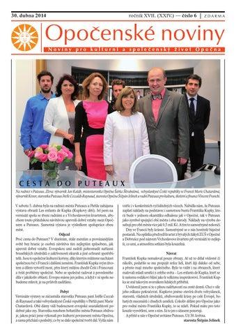 5. bezna 2015 ronk XVIII. (XXV.) slo 3 - Msto Opono