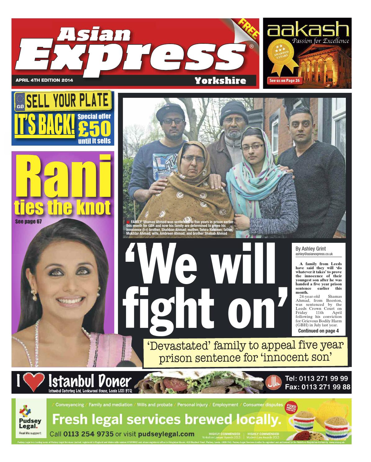 Asian Express Newspaper | Zayna Fatima Iqbal