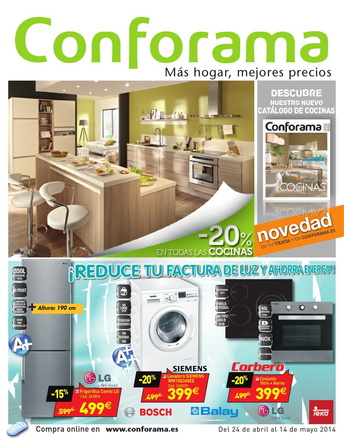 Conforama catalogo 24abril 14mayo2014 by - Catalogo de conforama ...
