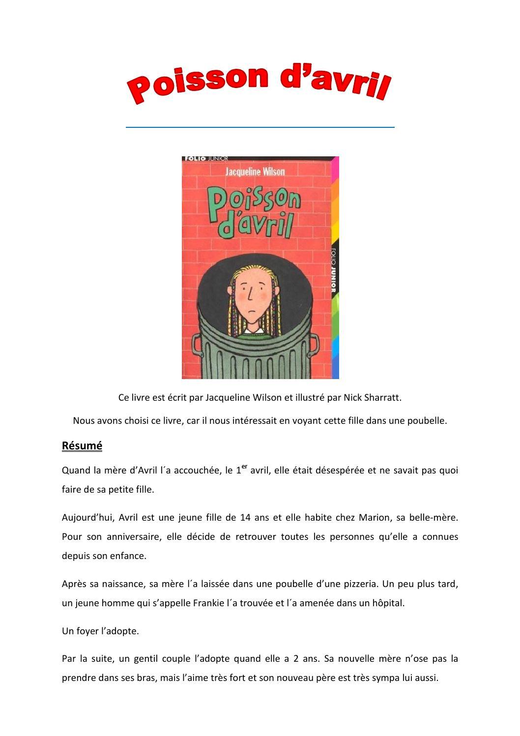C4 Buch Des Monats Avril 2014 Poisson D Avril By