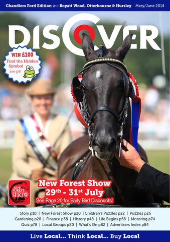 Discover Chandlers Ford May/June 2014 by Tania Houston - issuu