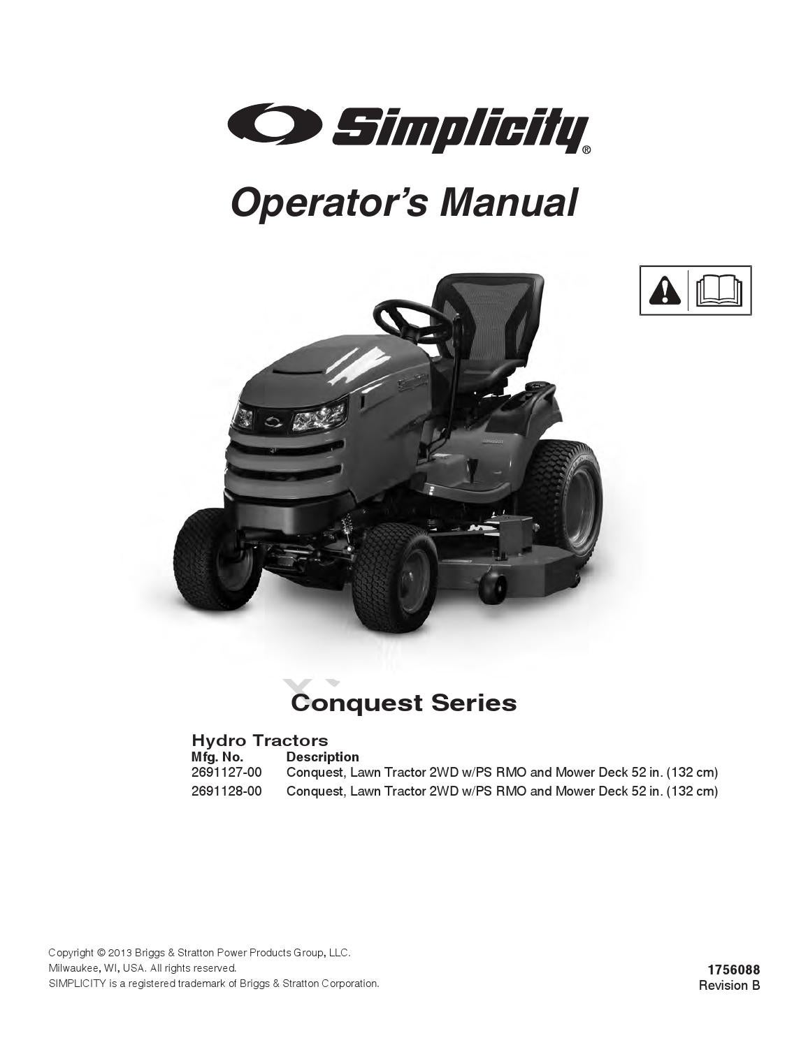 Aufsitzmher Conquest Is 2014 English By Walker Vertriebs Ag Issuu Mower Wiring Diagram For Charging Unit