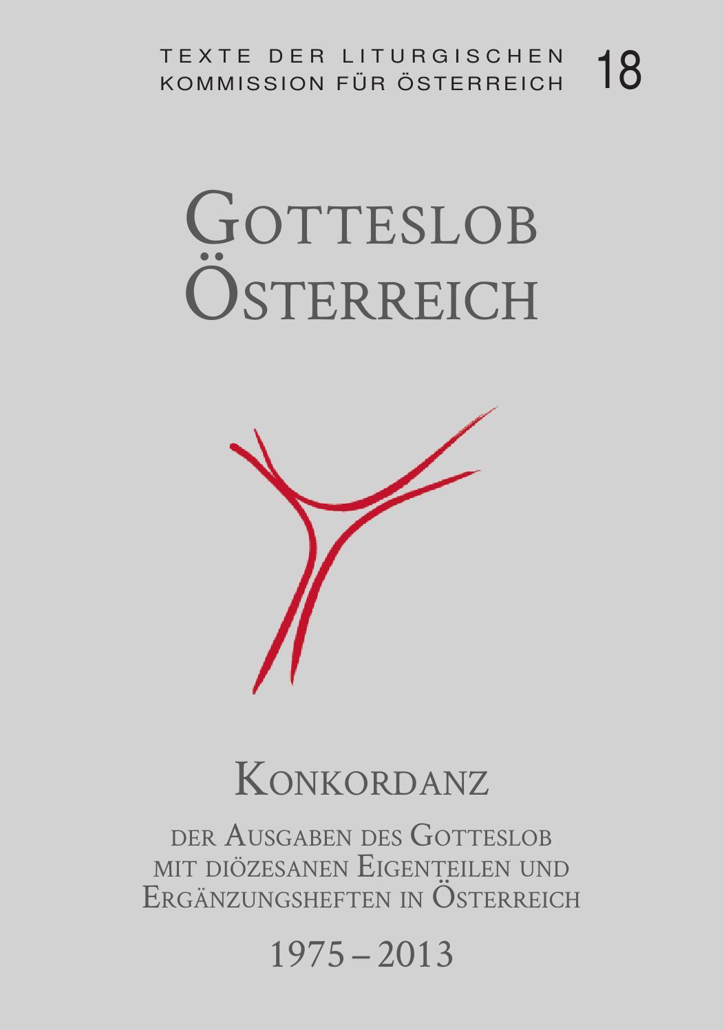 Konkordanz gl 1975 2013 by Katholische Kirche Österreich - issuu