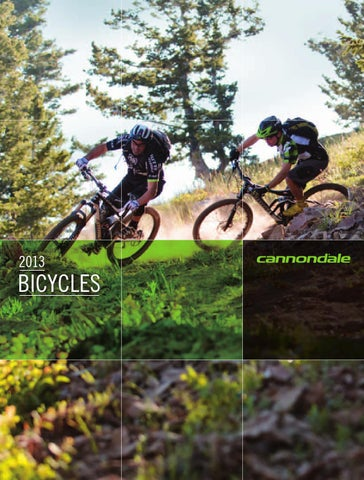 edb6a8f0464 2013 Cannondale Bicycles catalogue Europe - English by Cannondale ...