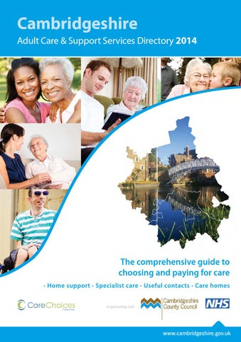 Cambridgeshire Adult Care Support Directory 2014
