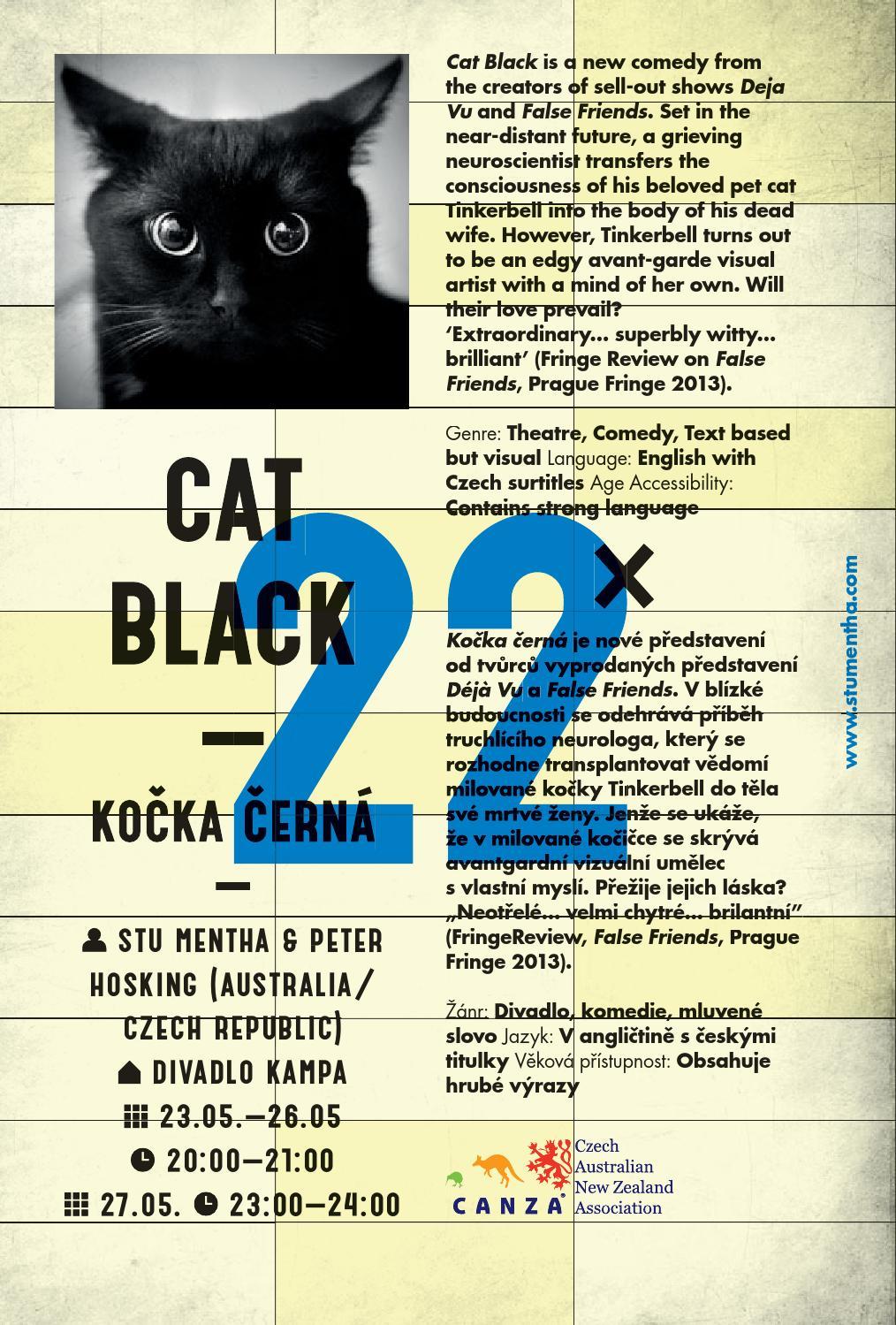 Černá kočička představení