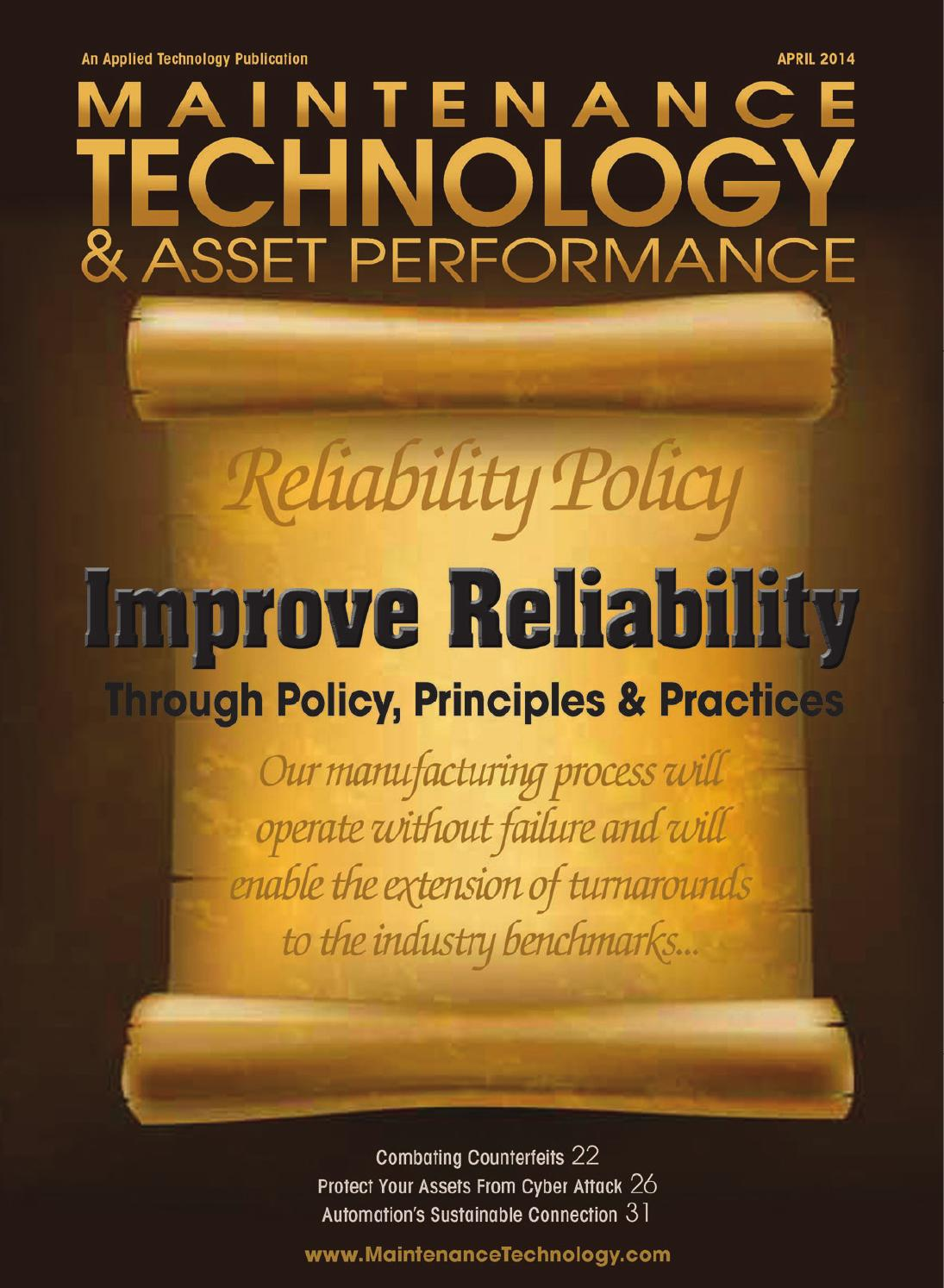 Maintenance Technology April 2014 By Applied Publications Circuit Breakers Blog Expert Safety And Usage Information Issuu