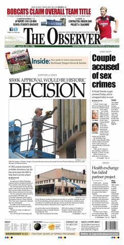 27659e34edd2 La Grande Observer 04-28-14 by NorthEast Oregon News - issuu