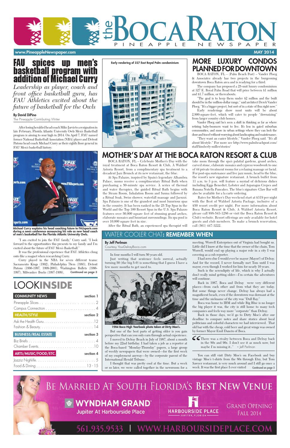 The boca raton pineapple may 2014 by four story media group issuu fandeluxe Gallery