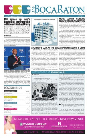 The boca raton pineapple may 2014 by four story media group issuu page 1 fandeluxe Choice Image