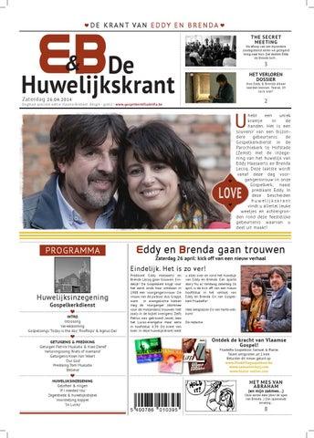 Extreem Huwelijkskrant Eddy & Brenda by Gospelkerk Filadelfia - issuu @HD05