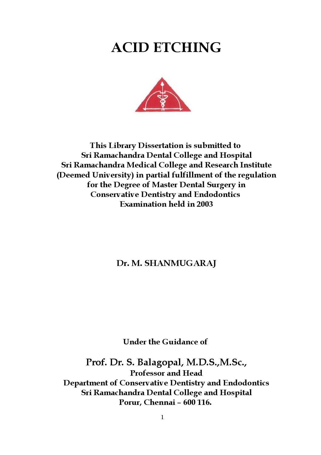 Library dissertation conservative dentistry biodegradation of phenol thesis