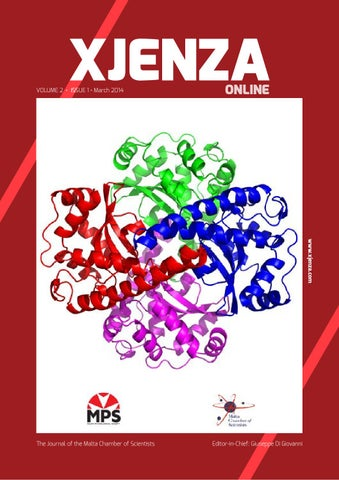 Xjenza Online (New Series) - Vol  2 Iss  1 2014 by Malta Chamber Of