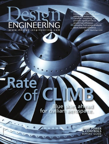 6bba9a8ebe5f4 Design Engineering March April 2014 by Annex Business Media - issuu