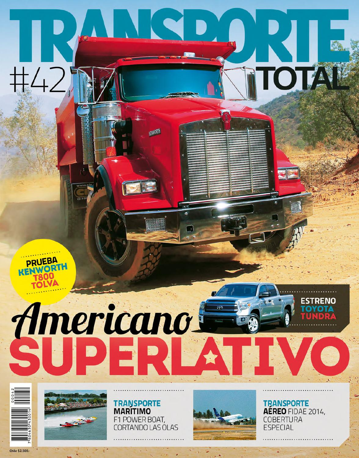 Transporte Total Chile (N° 45 Julio 2014- Completa by RS Chile - issuu