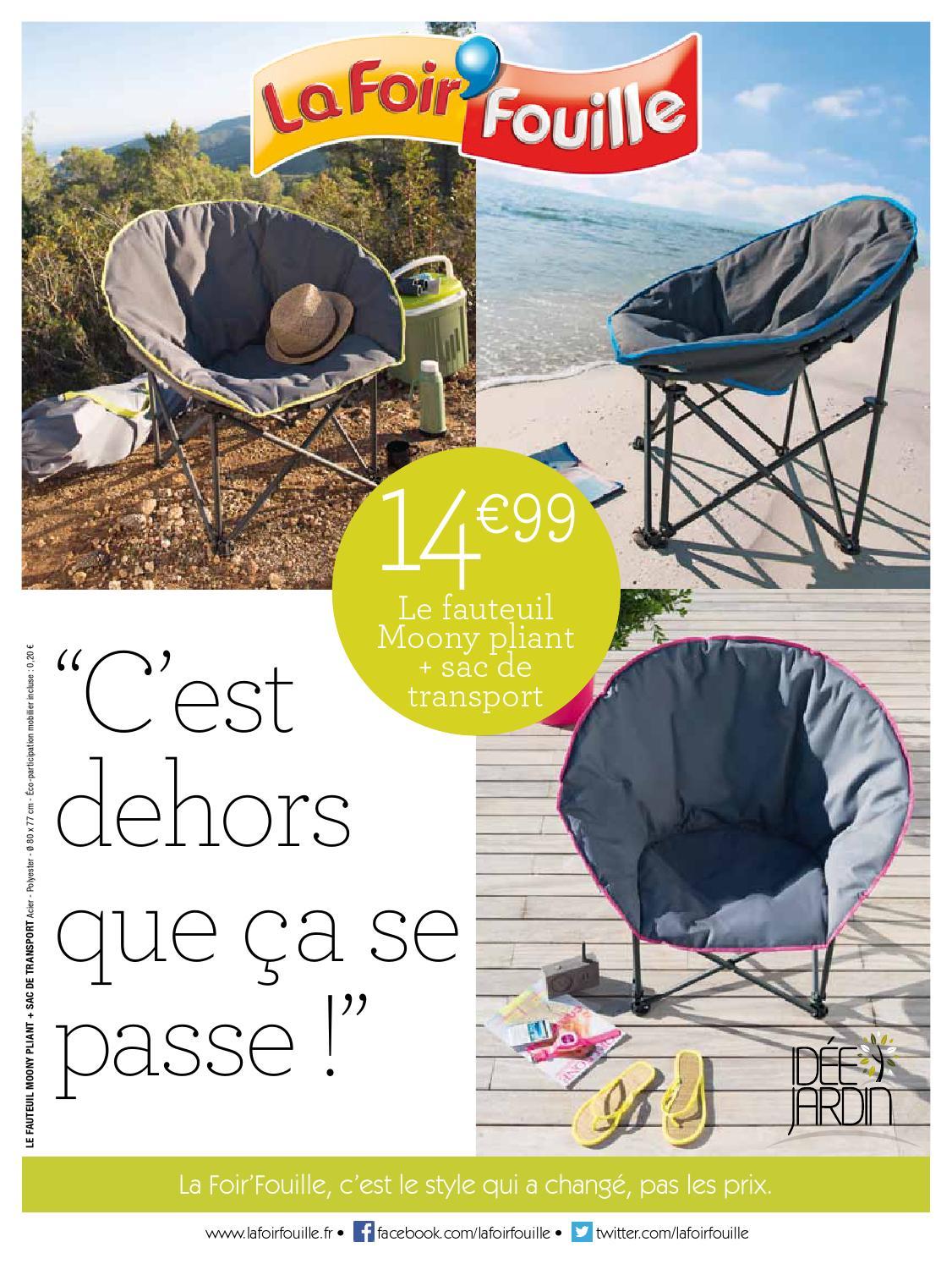 Catalogue La Foir Fouille - C\'est dehors que ça se passe! by ...