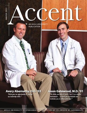 a06ec0e4dfc4 Avila University Accent Magazine - Winter 2011 by Avila Publications ...