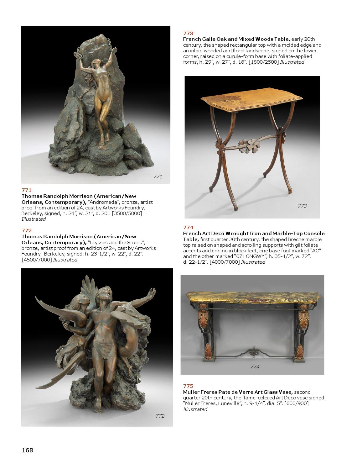 May 17 18 Estates Auction by New Orleans Auction Galleries