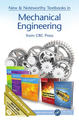 Mechanical engineering by crc press issuu page 1 fandeluxe Gallery
