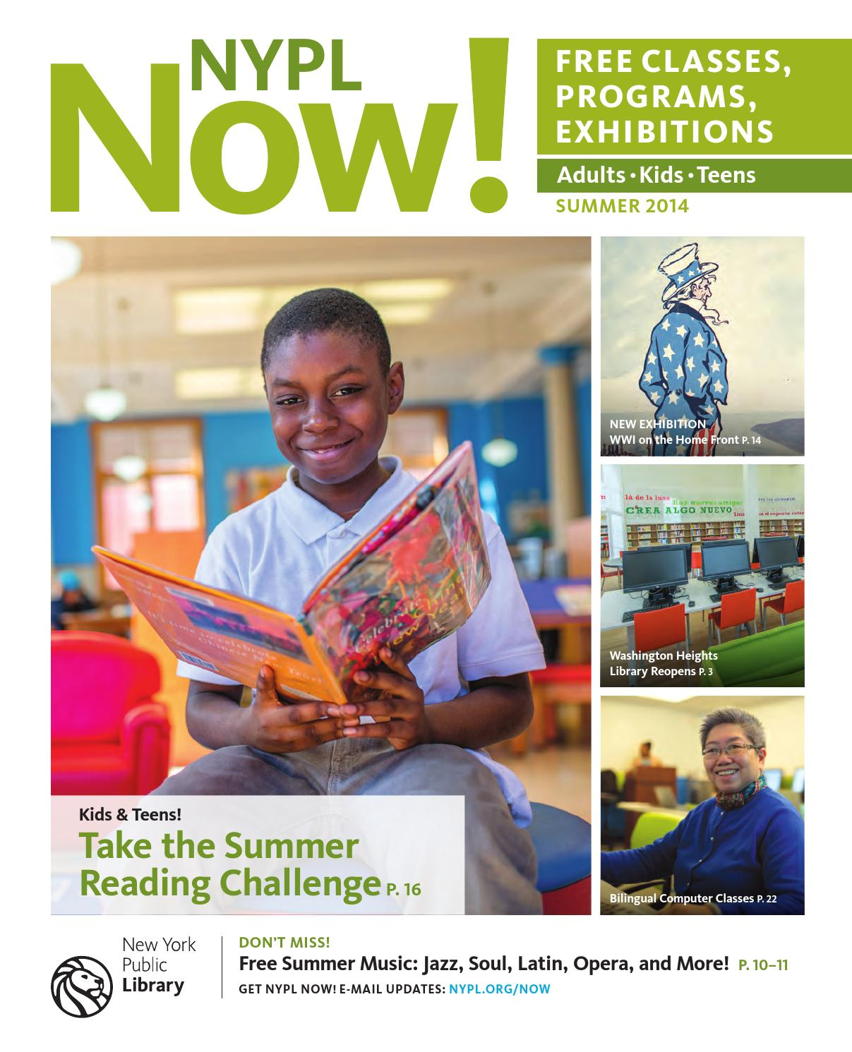 Nypl now summer 2014 by the new york public library issuu for Hamilton fish library