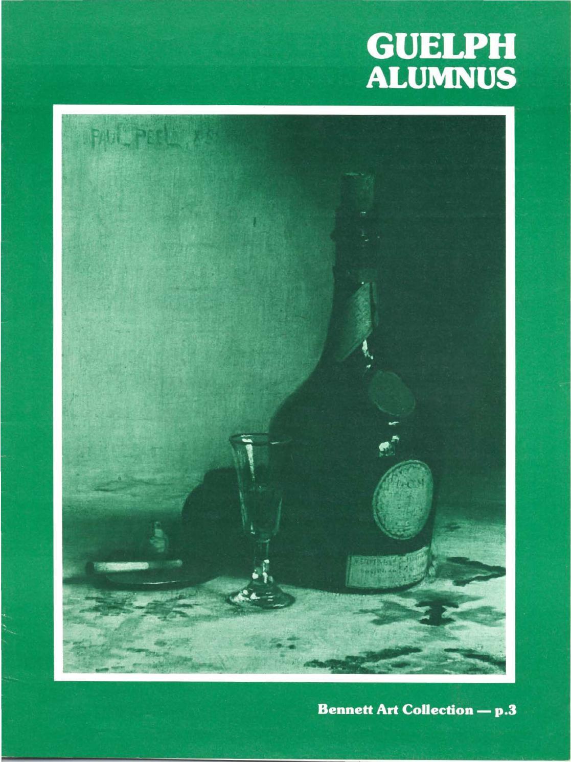 Guelph Alumnus Magazine, Fall 1983 by University of Guelph - issuu