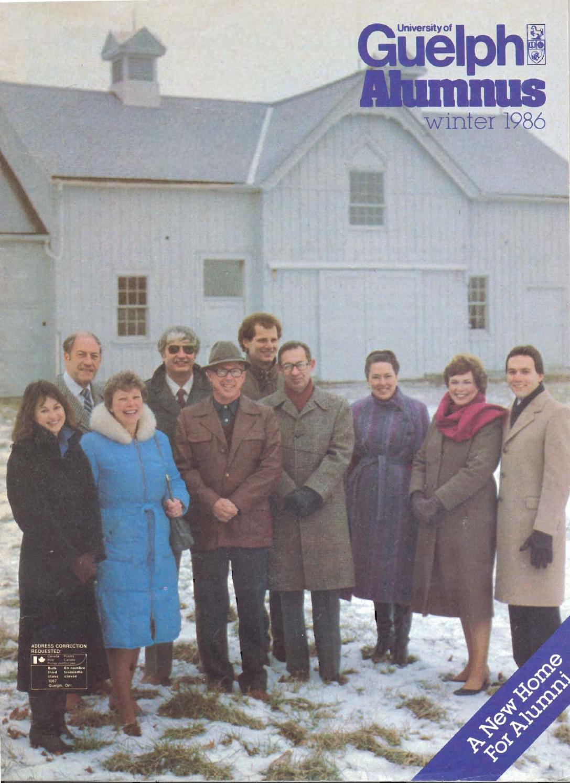 Guelph Alumnus Magazine Winter 1986 By University Of Issuu New Vario 110 Esp Cbs Iss Advanced Matte Grey Kudus