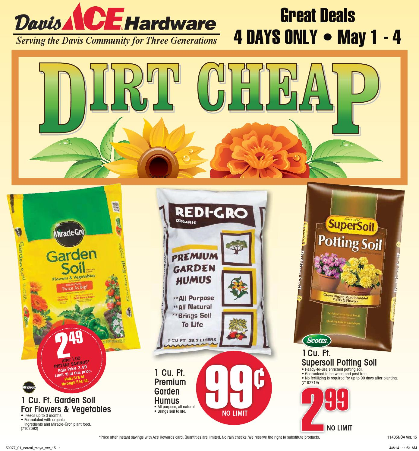 Davis Ace Dirt Cheap Sale by FootSteps Marketing LLC issuu